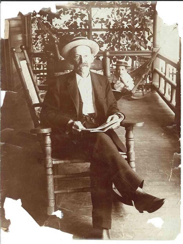 Samuel Calvin With Young Son Ward