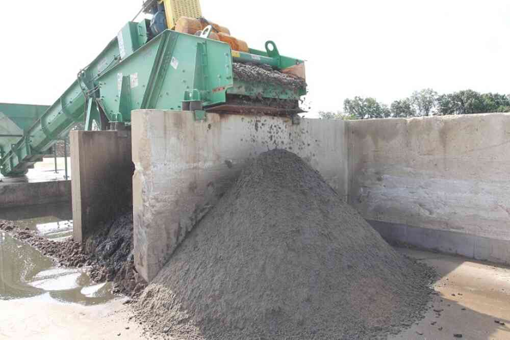 Importance of Drier Bedding Sand Dewatering Screen