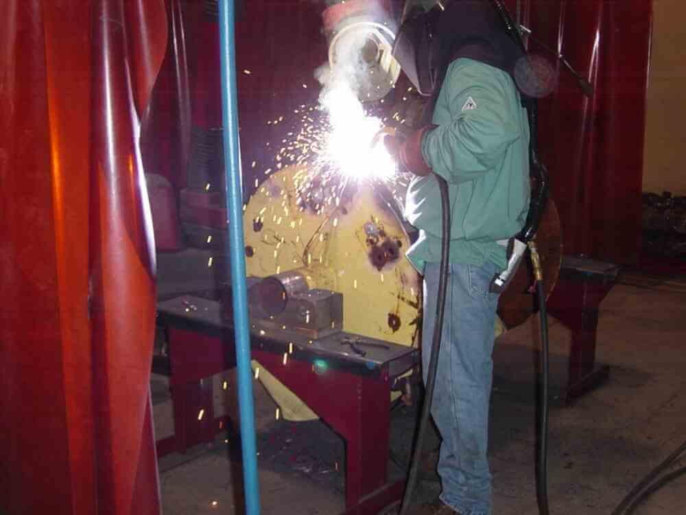 McLanahan Employee Welding