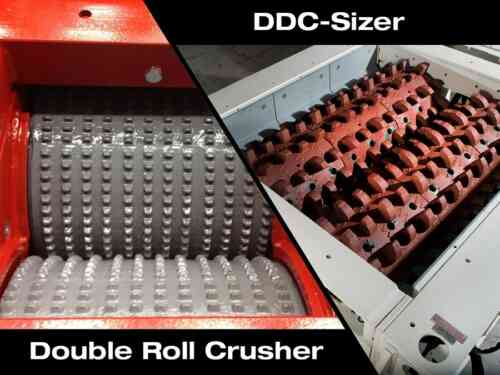 The Differences Between Double Roll Crushers and DDC-Sizers for Mineral Processing