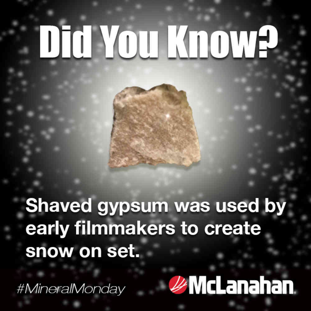 Gypsum Did You Know