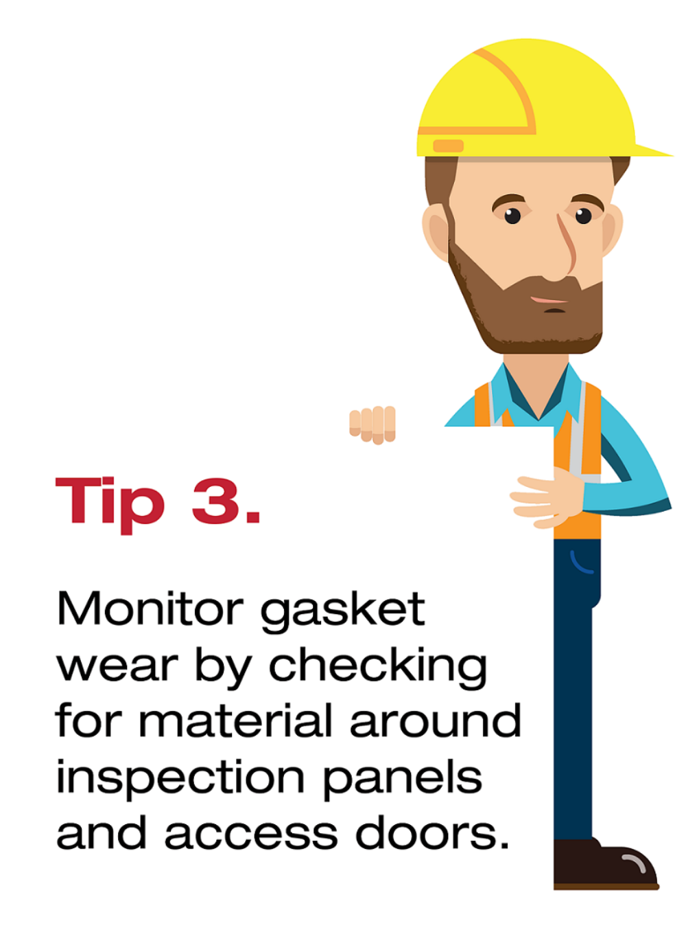 Vezin Sampler Maintenance Monitor Gasket Wear