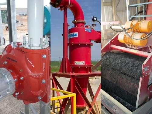 Pump Cyclone Dewatering Screen