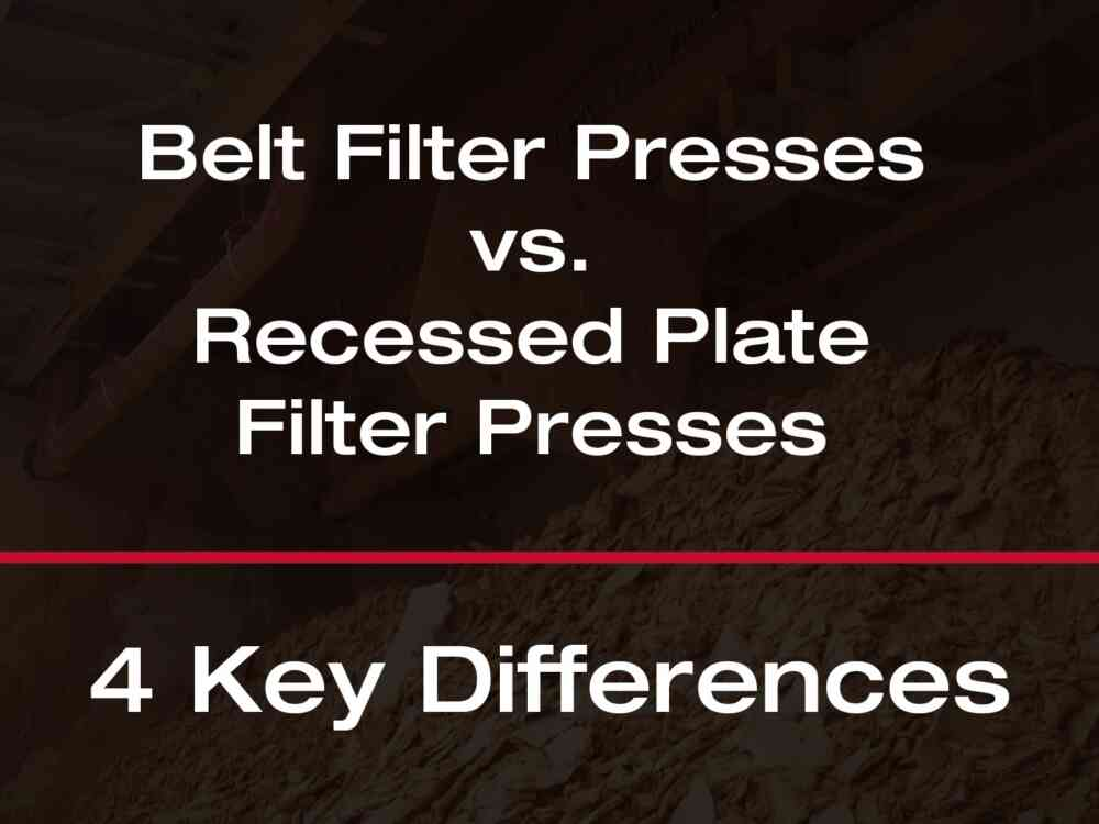 Filter Press Vs Belt Press