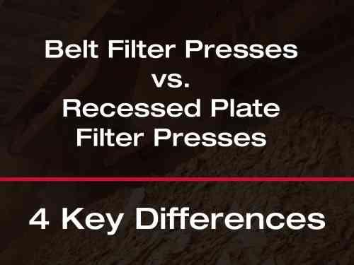 Filter Press Vs Belt Press