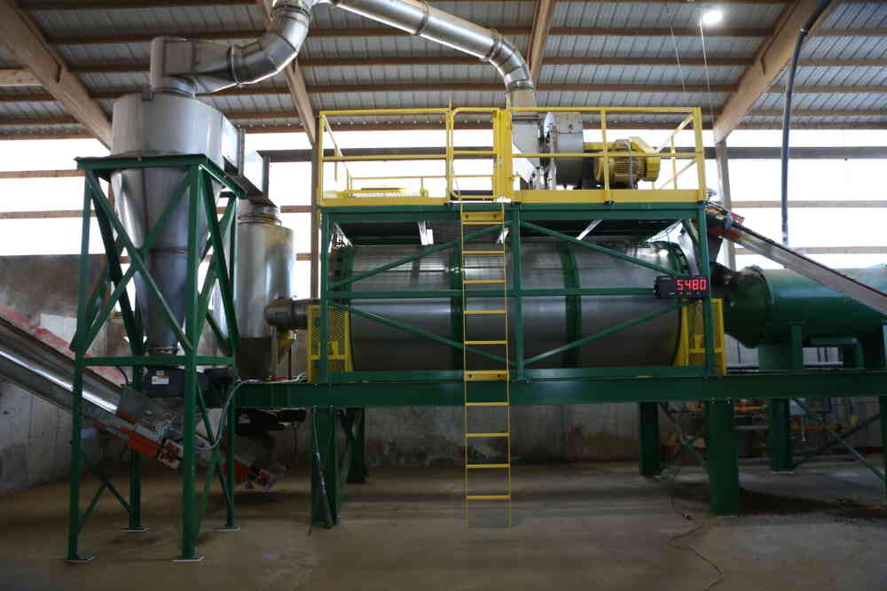 Bedding Dryer-Dairy Industry