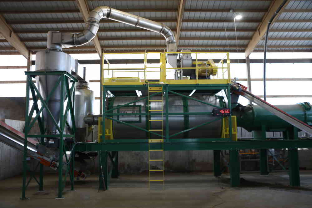 Manure Bedding Dryer