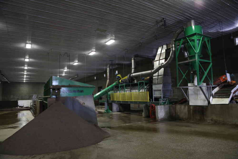 Sand Bedding Dryer