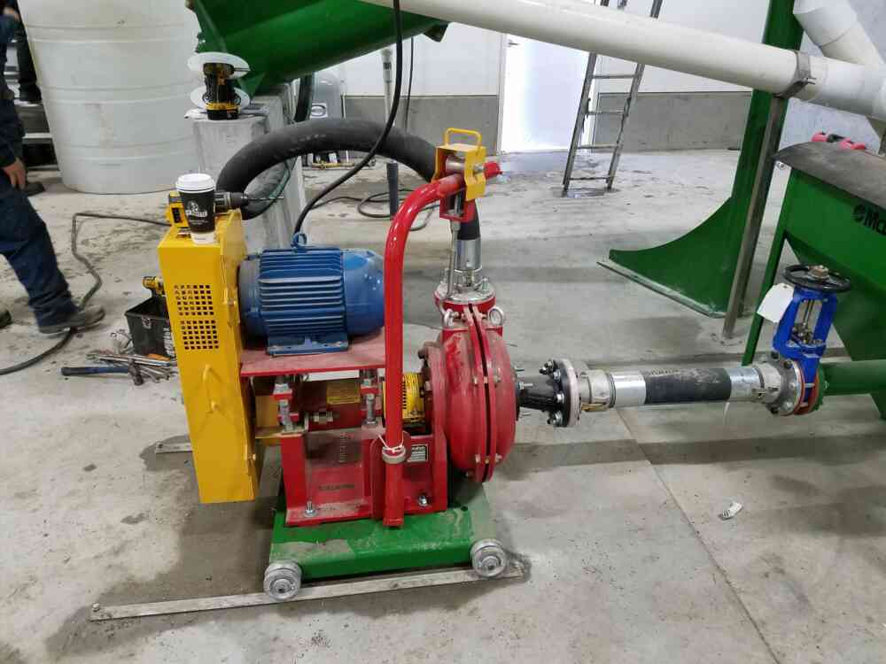 Sand Laden Manure Pump 1