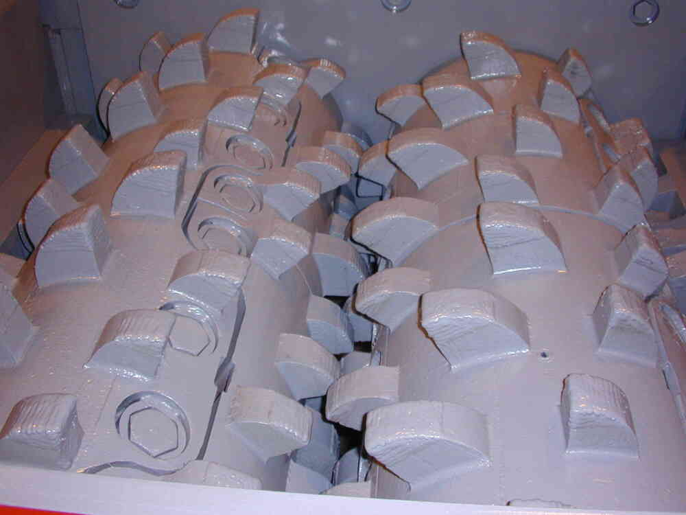 Close Up Of DDC Rolls With Primer