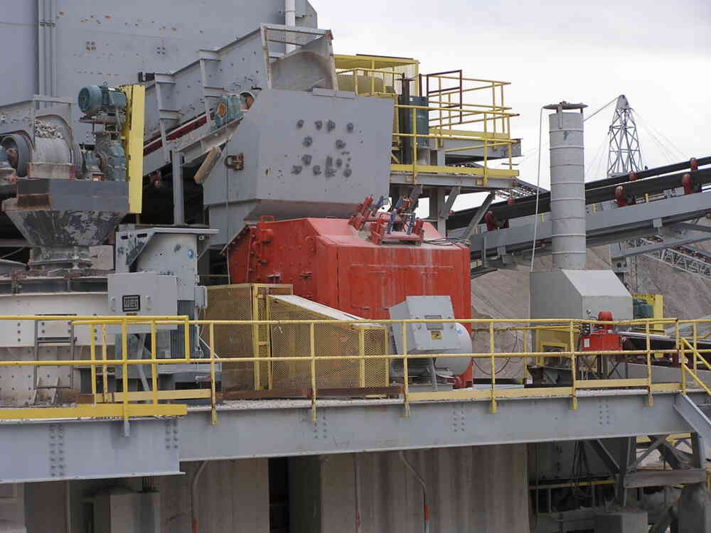 NGS Impact Crusher at Falling Springs