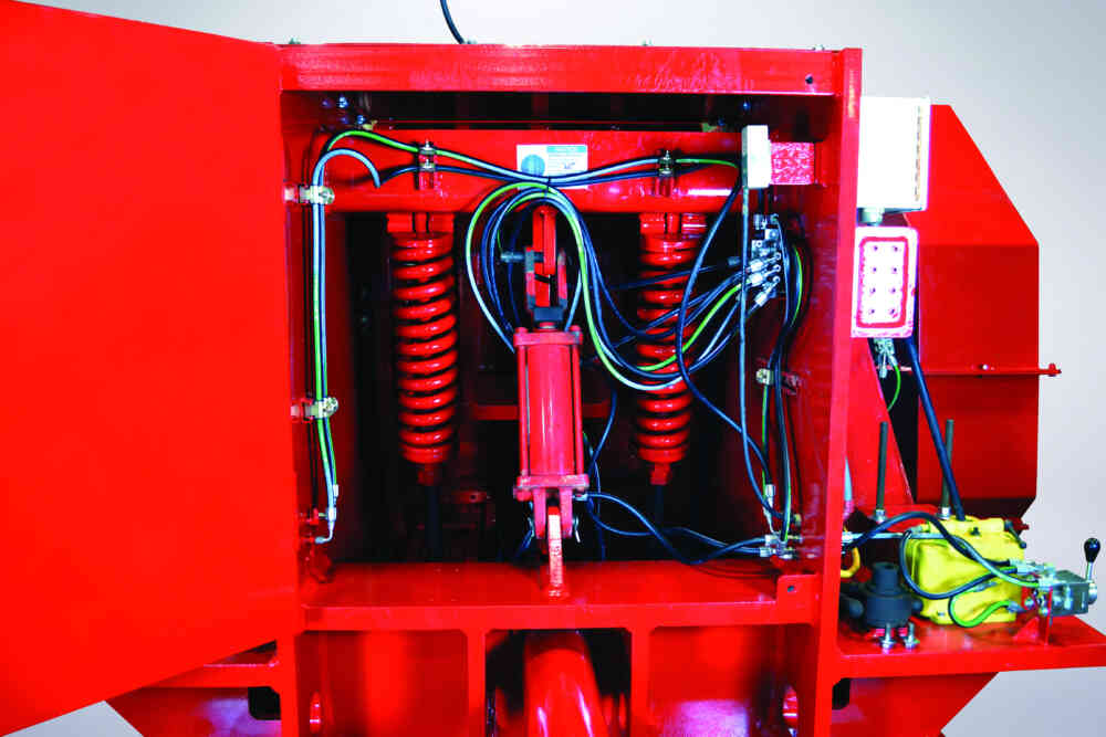 Single Roll Crusher Product Size Adjustment And Tramp Relief