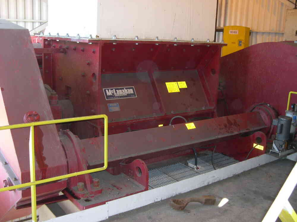 Single Roll Crusher Rockmaster Bailey