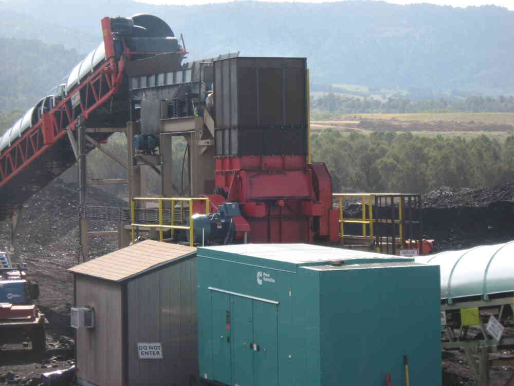 Triple Roll Crusher at Alton Coal