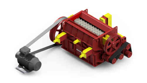 Triple Roll Crusher