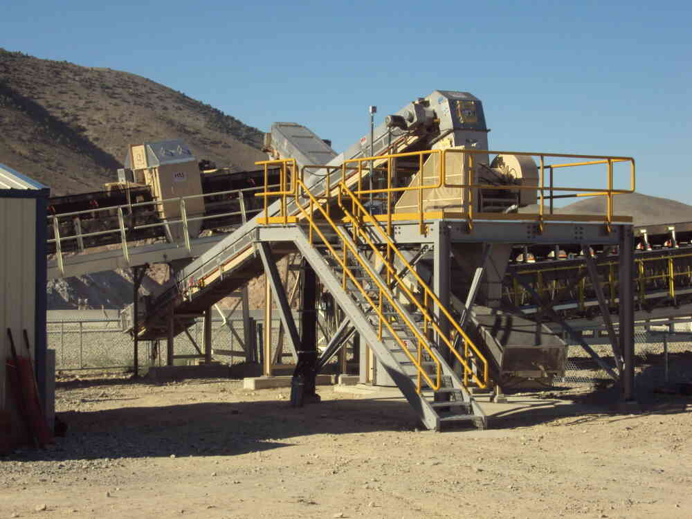 Two Stage System at Barrick Gold Cortez Mine