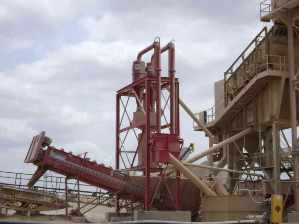Separator Sand Plant Rti Screw Washer