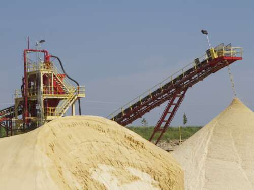 Industrial Sand Plant