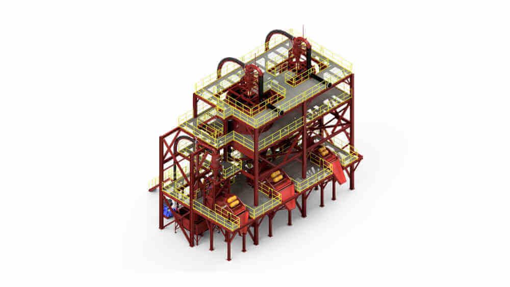 Mc Lanahan Industrial Sand Plant
