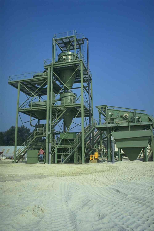 Inline Blending Sand Plant