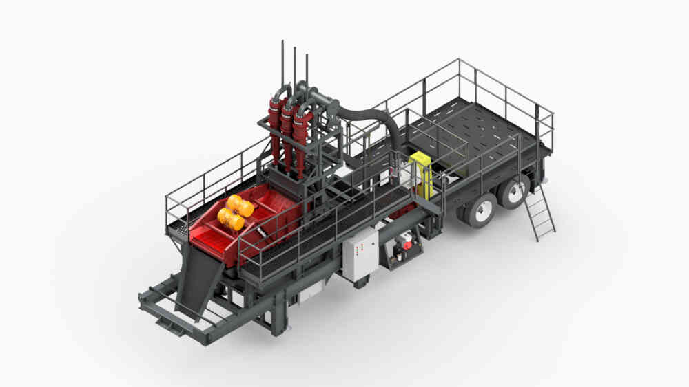 Mc Lanahan Portable Sand Plant