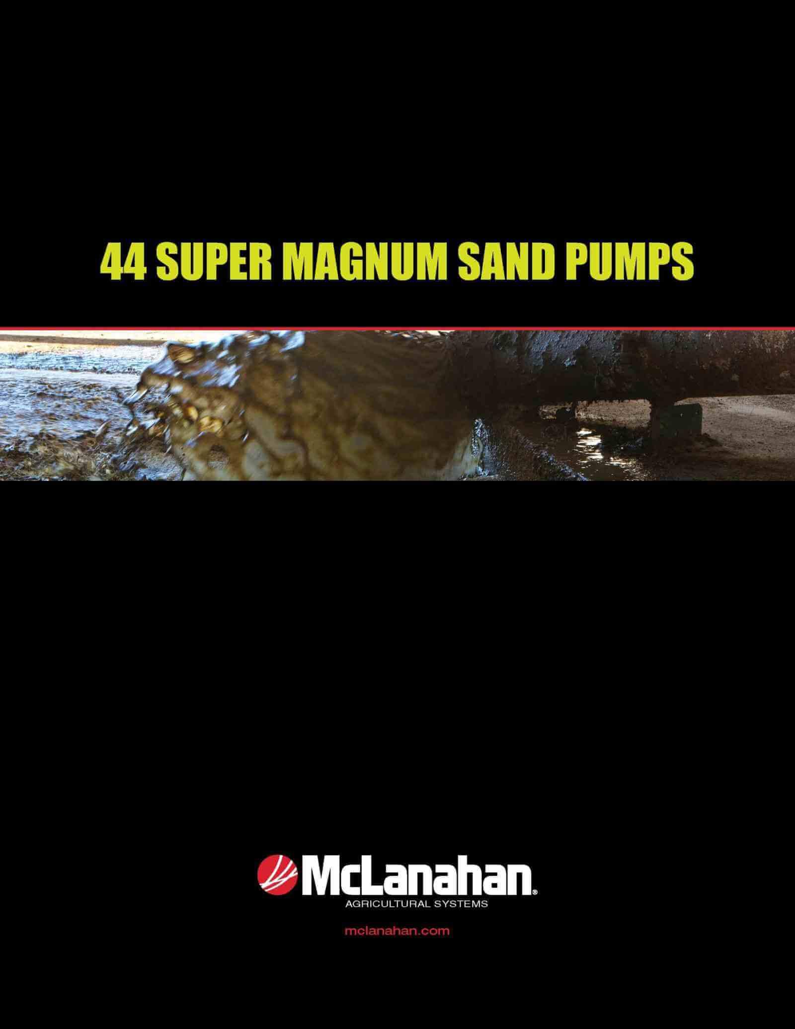 Sand Laden Manure Pump Brochure Image Page 1