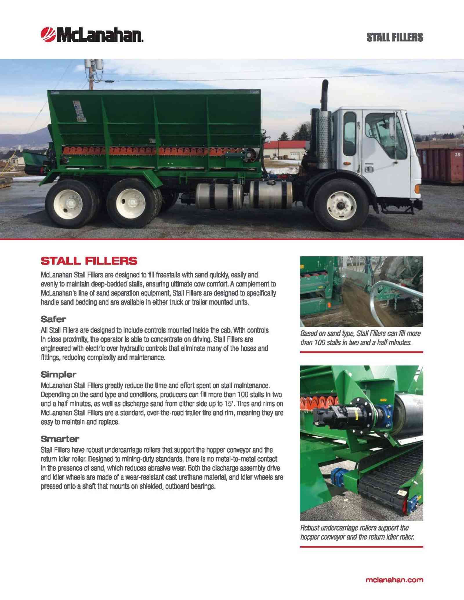 Stall Filler Brochure Preview Page 1