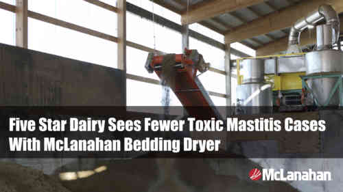 Five Star Dairy Case Study On Manure Bedding Dryers