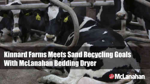 Kinnard Farms Case Study On Sand Bedding Dryer