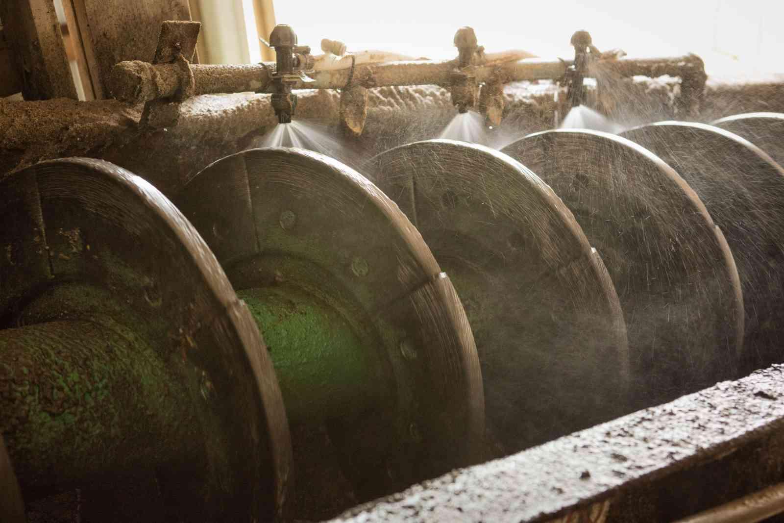 Tornillos lavadores para material grueso