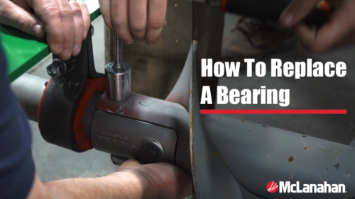 How To Replace a Bearing in a Horizontal Manure Auger