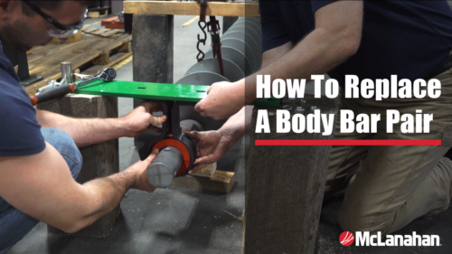 How To Replace A Body Bar Pair