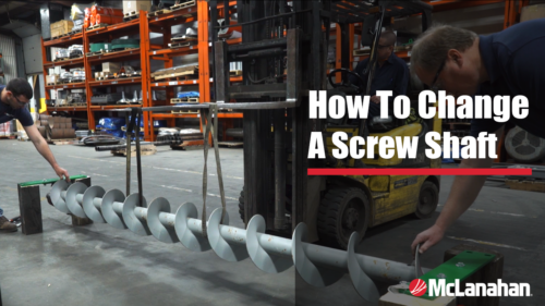 How To Change A Screw Shaft In A Horizontal Manure Auger