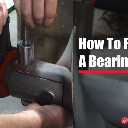 How to replace an HMA bearing featured