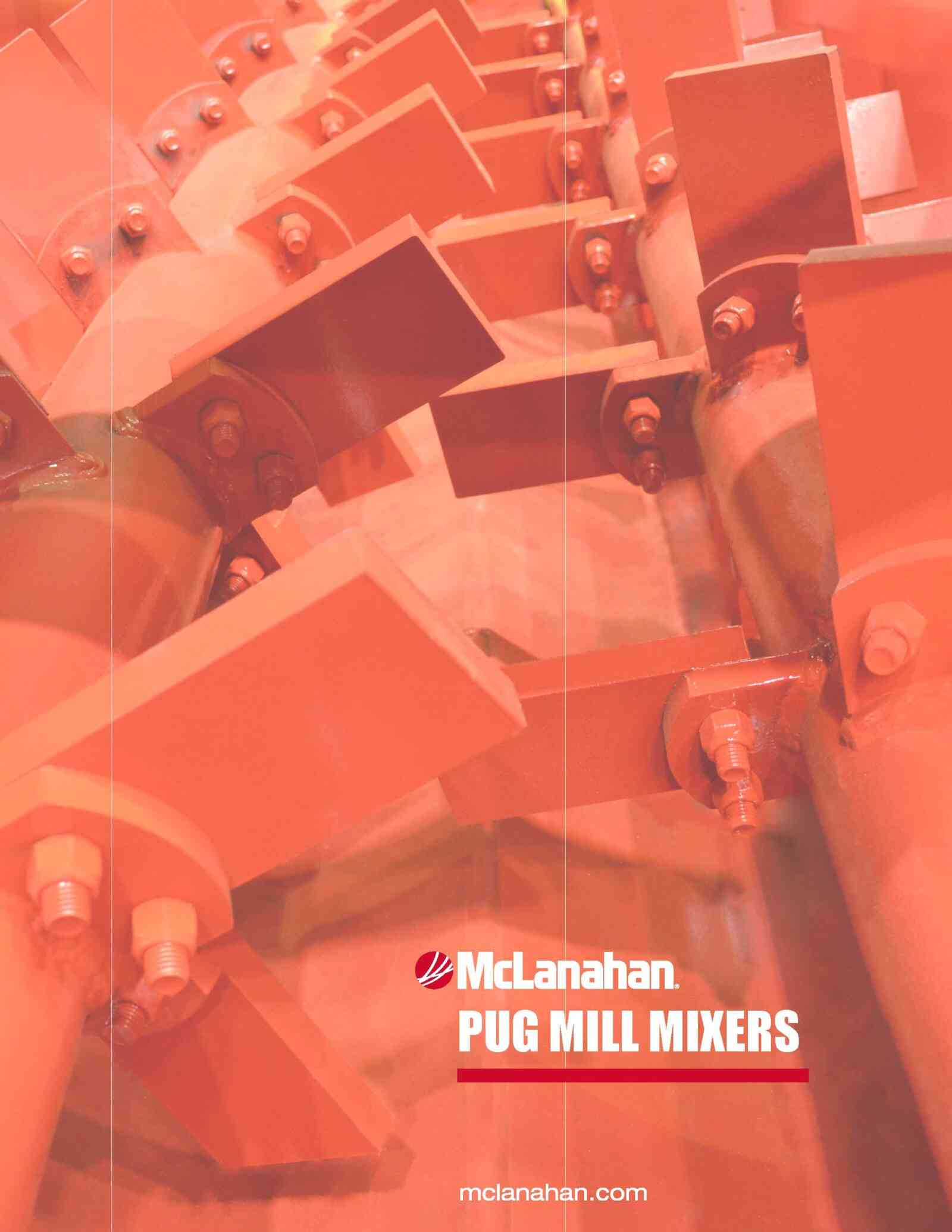Pug Mill Mixer Brochure Image Page 1