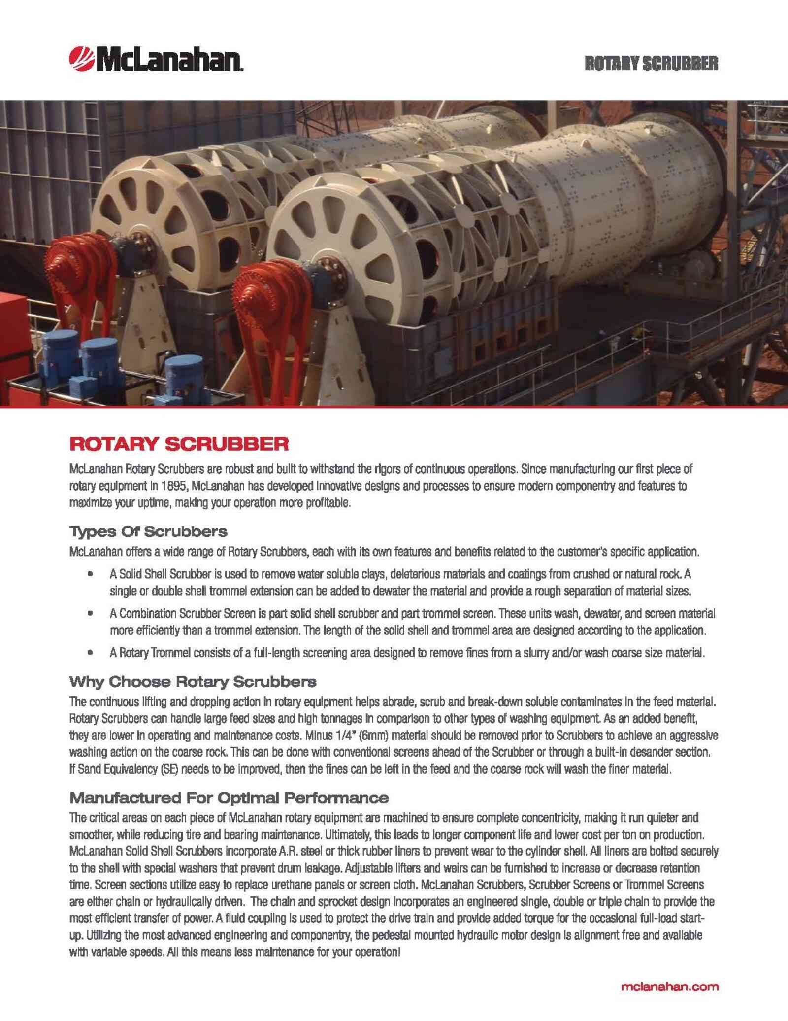 Rotary Scrubber Brochure Image Page 1