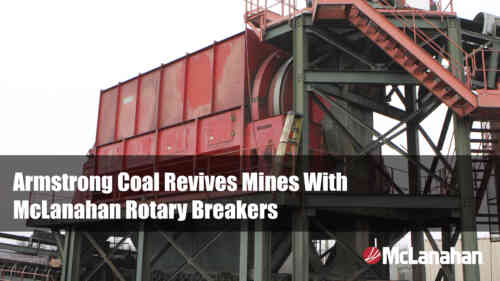 Armstrong Coal Case Study On Rotary Breakers