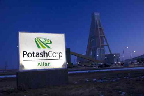 Potash Corp. Allan Sign