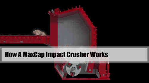 How A MaxCap Impact Crusher Works