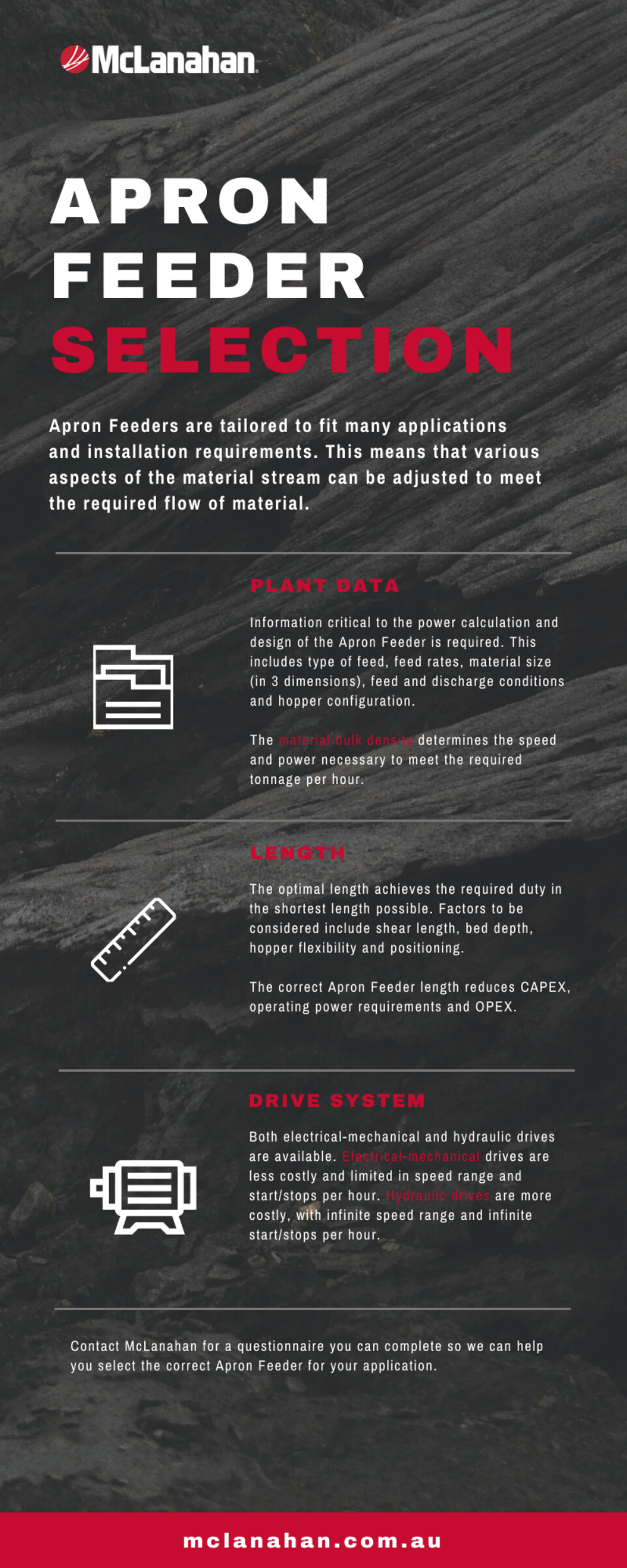 Apron Feeder Sizing And Selection