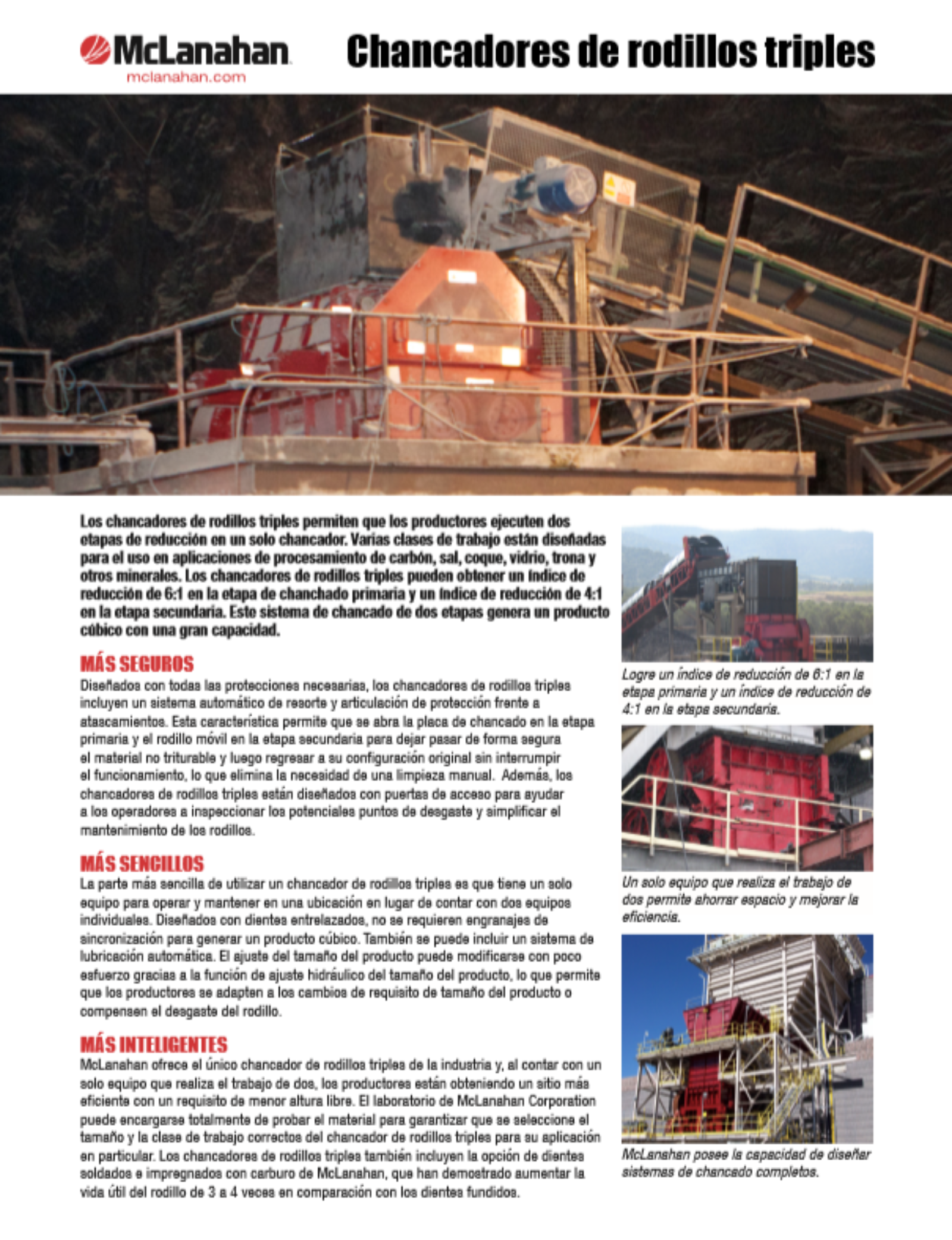 Triple Roll Crusher La