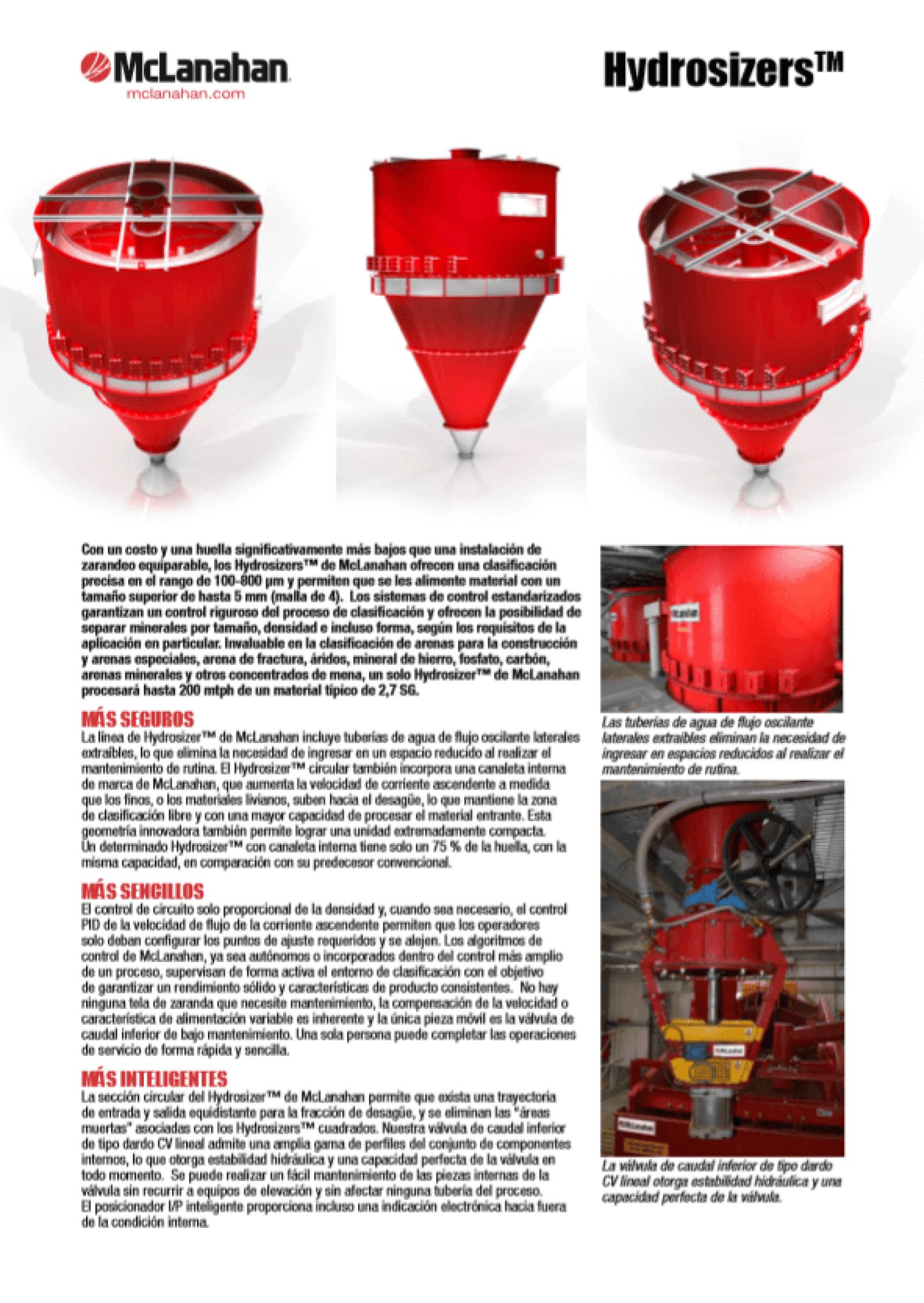 Hydrosizer