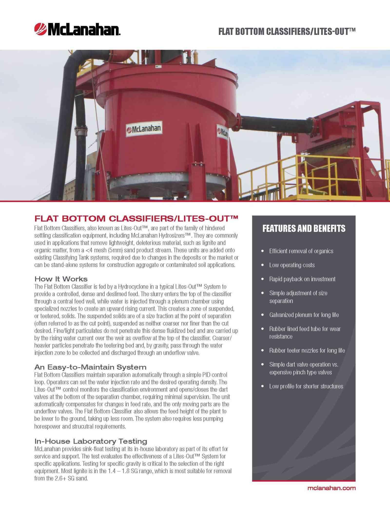 Flat Bottom Classifiers Brochure Na Digital Page 1
