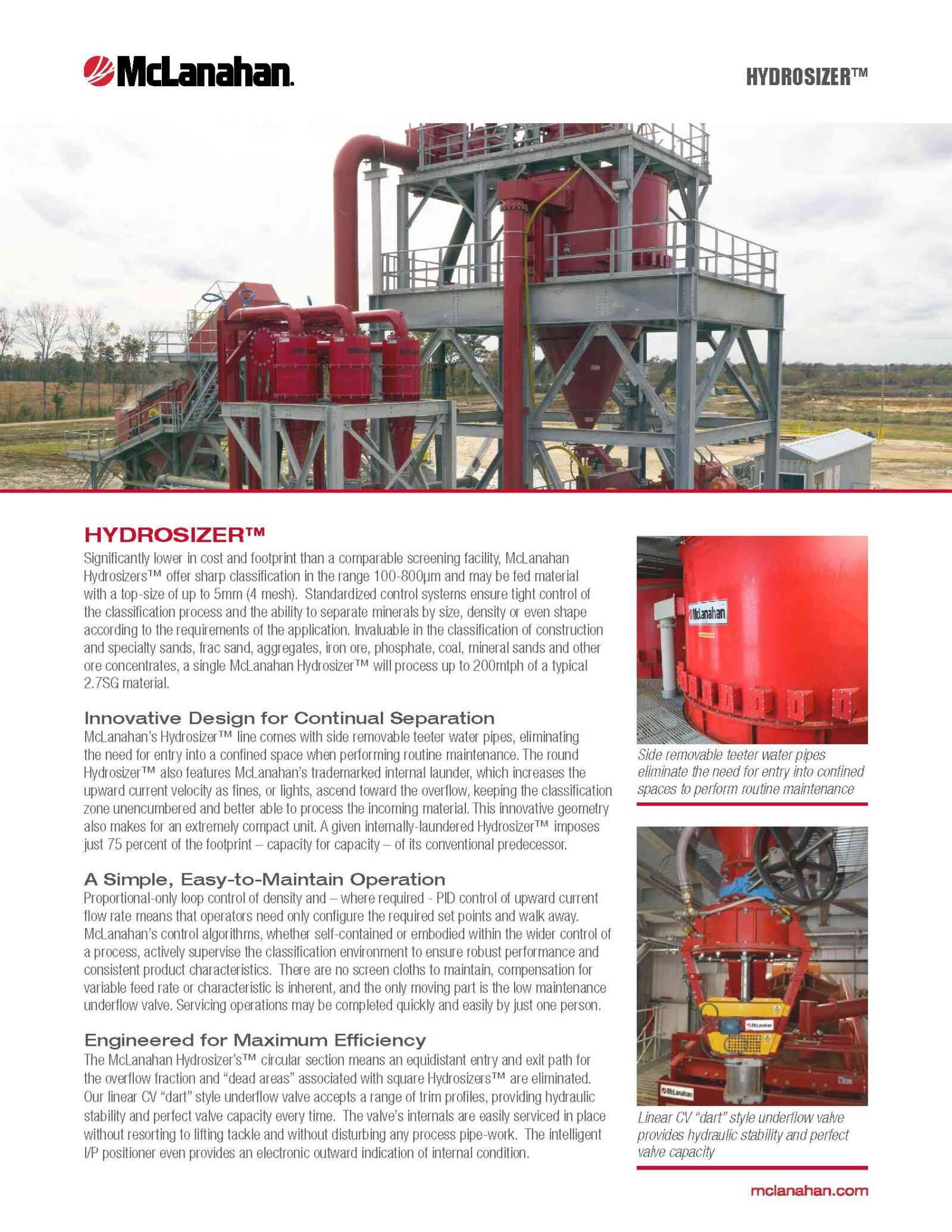 Hydrosizer Brochure Image Page 1