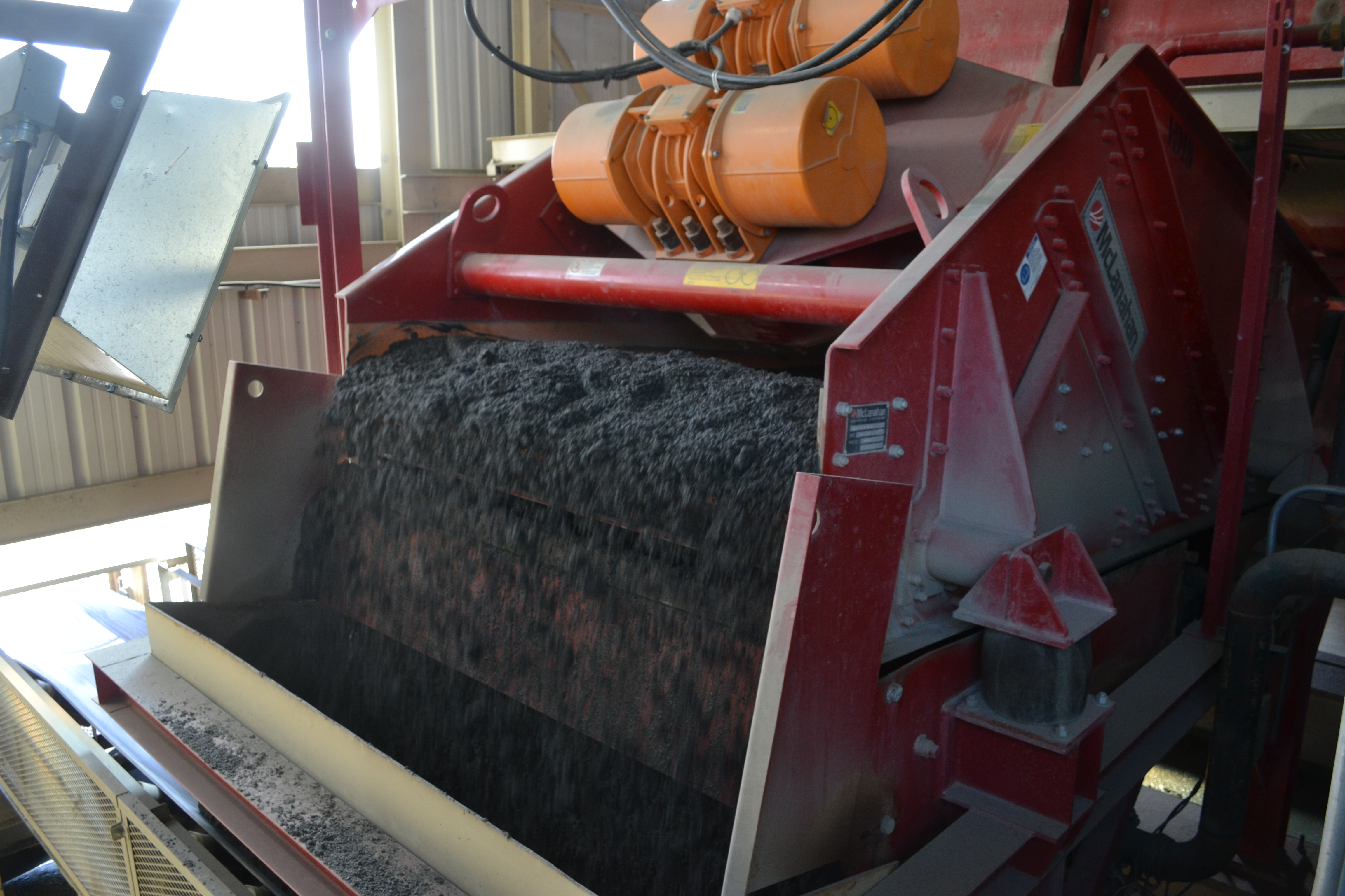 Luck Stone McLanahan Dewatering Screen