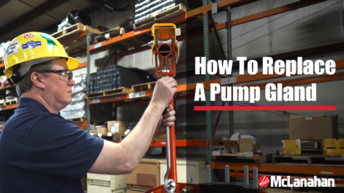 How To Replace A Gland In A Pump