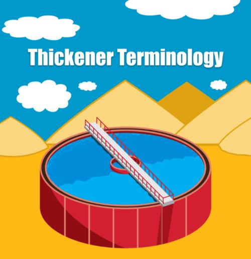 Thickener Terminology