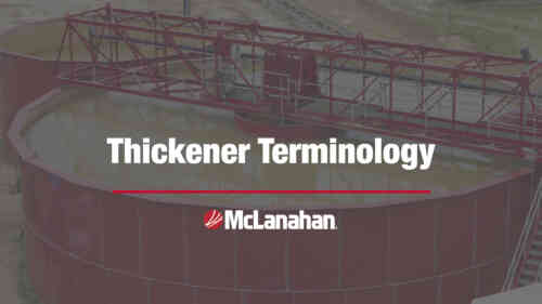 Thickener Terminology