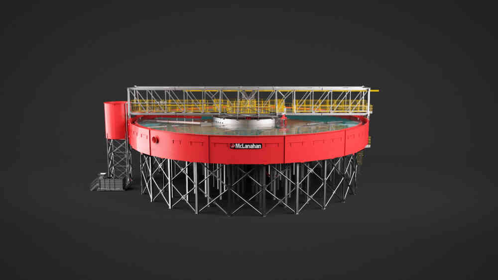 Elevated Thickener