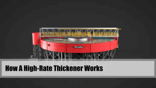 How A High-Rate Thickener Works 3-D Video